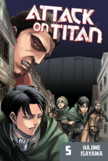 Attack On Titan 5, Paperback / softback Book