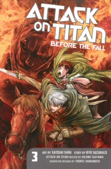 Attack On Titan: Before The Fall 3, Paperback / softback Book