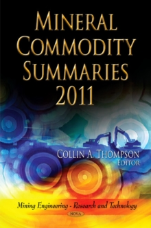 Mineral Commodity Summaries 2011, Hardback Book