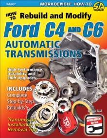 How to Rebuild & Modify Ford C4 & C6 Automatic Transmissions, EPUB eBook