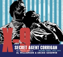 X-9 Secret Agent Corrigan Volume 3, Hardback Book
