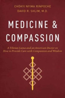 Medicine and Compassion : A Tibetan Lama and an American Doctor on How to Provide Care with Compassion and Wisdom, Paperback / softback Book