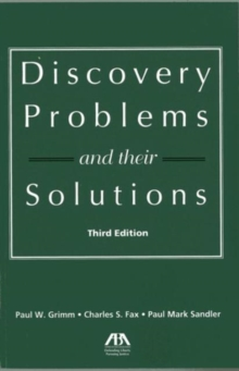 Discovery Problems and Their Solutions, Paperback Book