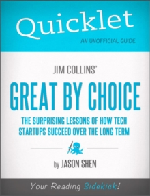 Quicklet on Jim Collins' Great By Choice, EPUB eBook