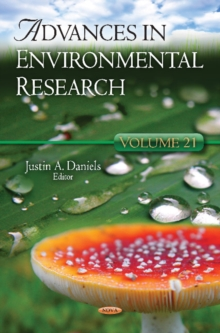 Advances in Environmental Research : Volume 21, Hardback Book