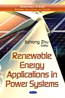 Renewable Energy Applications in Power Systems, Hardback Book