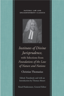 christian thomasius essays on church state and politics Upc 9781614870609 essays on church, state, and politics info, barcode, images, gtin registration & where to buy online the essays selected here for translation derive largelyfrom thomasius's work on staatskirchenrecht, orthe political jurisprudence of church law these works,originating as disputations, theses, and pa.