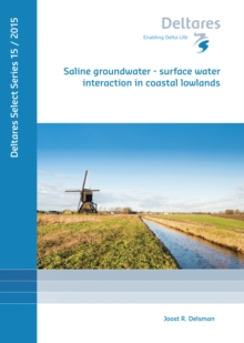 SALINE GROUNDWATER SURFACE WATER INTERAC, Paperback Book