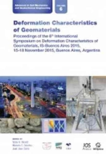 DEFORMATION CHARACTERISTICS OF GEOMATERI, Paperback Book