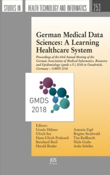 GERMAN MEDICAL DATA SCIENCES A LEARNING, Paperback Book