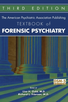 The American Psychiatric Association Publishing Textbook of Forensic Psychiatry, Hardback Book