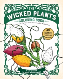 The Wicked Plants Coloring Book, Paperback Book