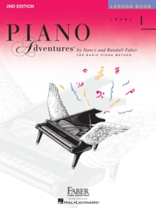 Piano Adventures : Lesson And Theory Book - Level 1 (Book/CD), Paperback Book