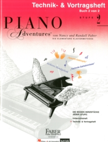 PIANO ADVENTURES TECHNIK VORTRAGSHEFT 2, Paperback Book