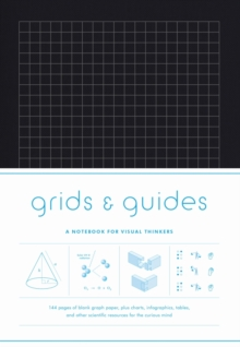 Grids & Guides (Black) : A Notebook for Visual Thinkers, Notebook / blank book Book