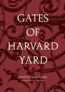 Gates of Harvard Yard, Paperback Book