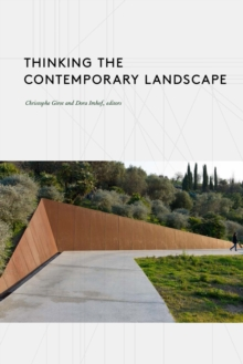 Thinking the Contemporary Landscape, Paperback / softback Book
