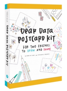 Dear Data Postcard Kit : For Two Friends to Draw and Share, Postcard book or pack Book