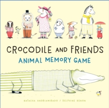 Crocodile and Friends Animal Memory Game, Game Book
