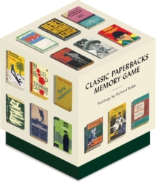 Classic Paperbacks Memory Game, Game Book