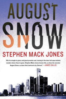 August Snow, Paperback Book