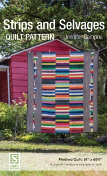 Strips and Selvages Quilt Pattern, General merchandise Book