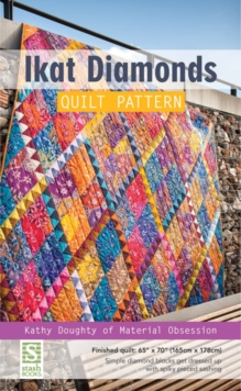 Ikat Diamonds Quilt Pattern, Other merchandise Book