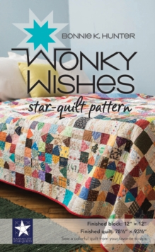 Wonky Wishes Star-Quilt Pattern, Paperback / softback Book