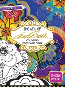 The Art of Laurel Burch Coloring Postcard Book, General merchandise Book