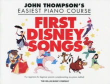 John Thompson's Easiest Piano Course : First Disney Songs, Paperback Book