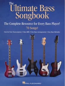 The Ultimate Bass Songbook, Paperback / softback Book