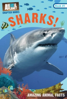 Animal Planet Chapter Books: Sharks!, Paperback Book