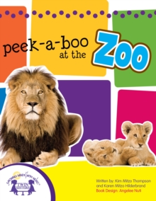 Peek-A-Boo At The Zoo Picture Book, PDF eBook