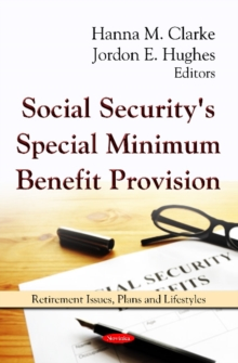 Social Security's Special Minimum Benefit Provision, Paperback Book