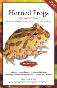 Horned Frogs : Plus Budgett's Frogs, EPUB eBook