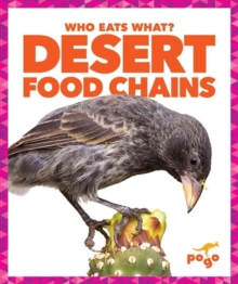 Desert Food Chains, Hardback Book