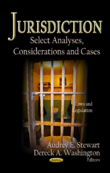 Jurisdiction : Select Analyses, Considerations & Cases, Hardback Book