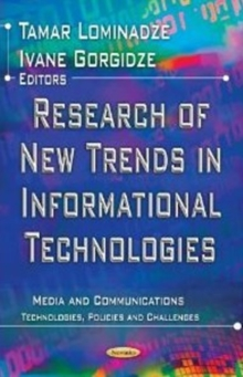 Research of New Trends in Informational Technologies, Paperback Book