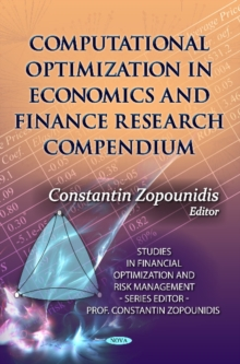 Computational Optimization in Economics & Finance Research Compendium, Hardback Book