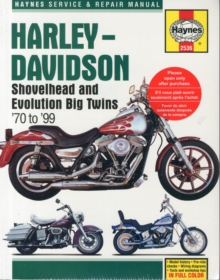 Harley-Davidson Shovelhead & Evolution Big Twins (70 - 99) : 1970 - 1999, Paperback / softback Book