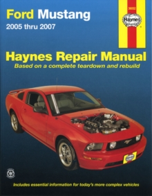 Ford Mustang Automotive Repair Manual : 2005-14, Paperback Book