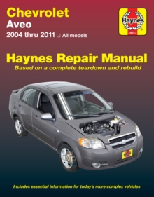 Chevrolet Aveo Automotive Repair Manual 04-11, Paperback Book