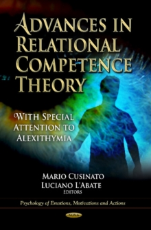 Advances in Relational Competence Theory : With Special Attention to Alexithymia, Hardback Book