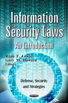 Information Security Laws : An Introduction, Paperback Book