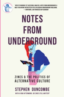 Notes From Underground, Paperback Book