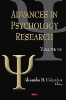 Advances in Psychology Research : Volume 95, Hardback Book