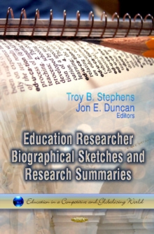 Education Researcher Biographical Sketches & Research Summaries, Paperback Book