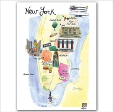 New York Notecard Box, Cards Book