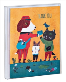 Doggy Thank You Notecard Set, Cards Book