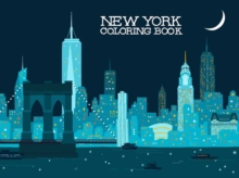 New York Coloring Book, Paperback Book